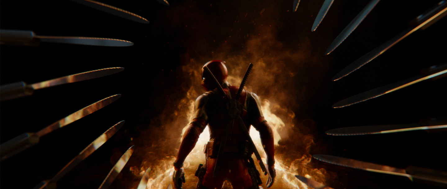 'Deadpool 2' Opening Titles and Main-on-Ends